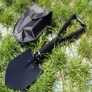 Multi-Function Carbon Steel Military Survival Shovel - Outdoorsy