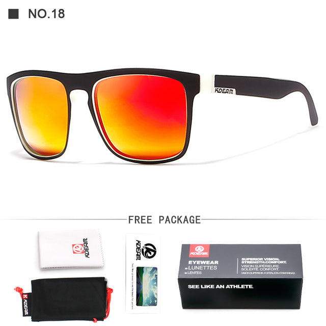 Kdeam Mirror Polarized Sunglasses for Men - Outdoorsy