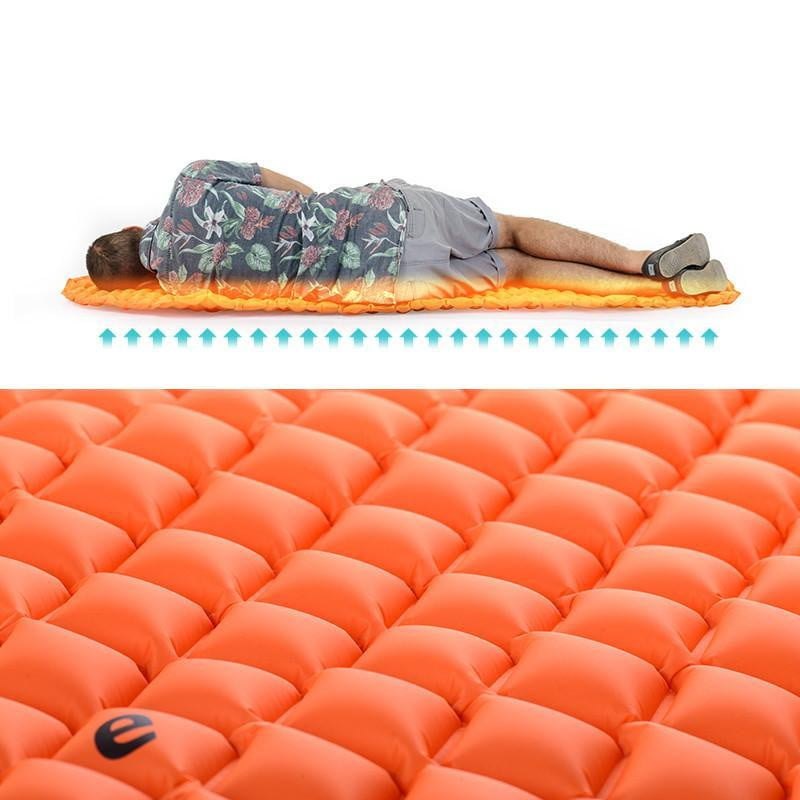 Naturehike Moistureproof Inflatable Mummy Sleeping Pad, Camping, Outdoorsy
