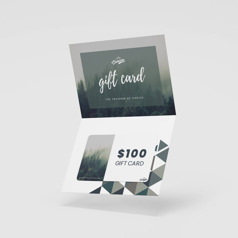 Outdoorsy Gift Card - Outdoorsy