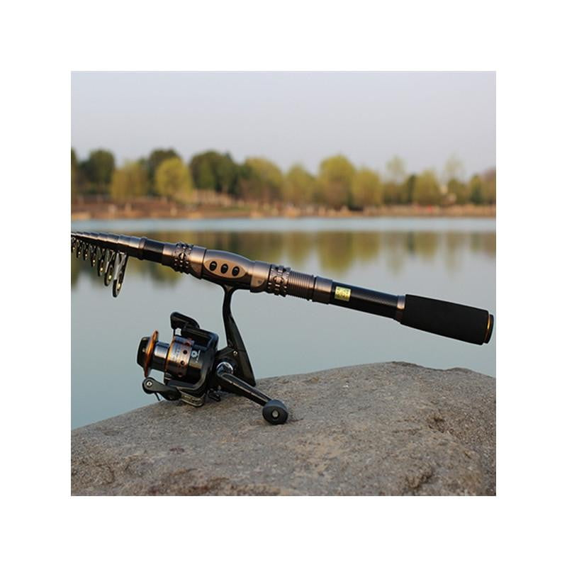 Carbon Fiber Telescopic Fishing Rod - Outdoorsy