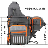 Crossbody Sling Fishing Tackle Bag, Fishing, Outdoorsy