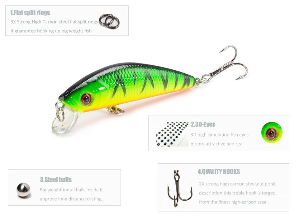 Best Minnow Fishing Lures, Fishing, Outdoorsy