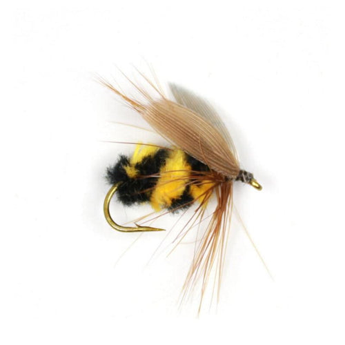 10pcs Bumble Bee Flies, Fishing, Outdoorsy, Outdoorsy