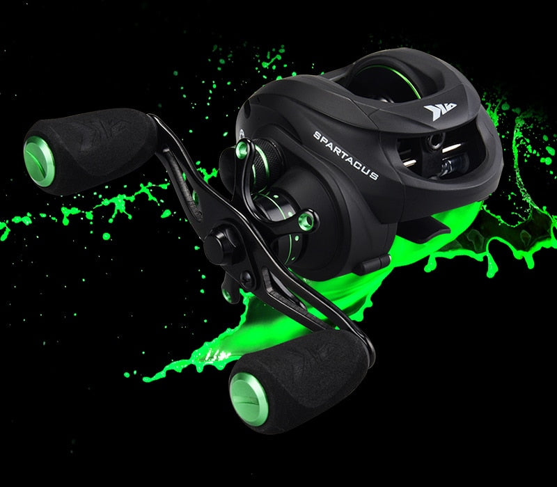 Spartacus Plus Baitcasting Reel with Dual Brake System, Fishing, Outdoorsy, Outdoorsy