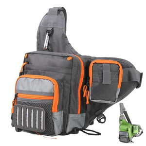 Crossbody Sling Fishing Tackle Bag - Outdoorsy