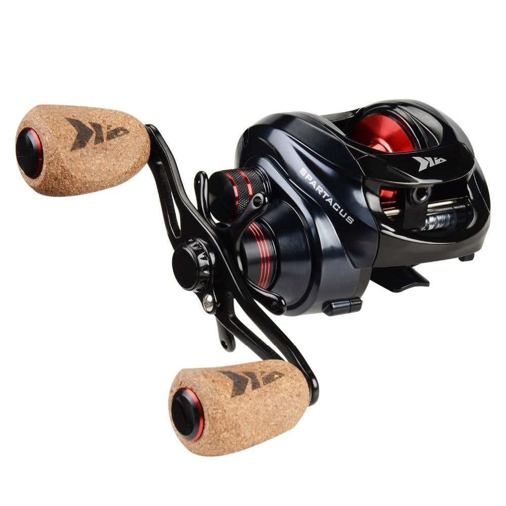 Spartacus Plus Baitcasting Reel with Dual Brake System, Fishing, Outdoorsy