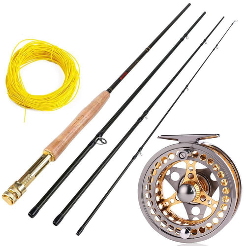 Lightweight Fly Fishing Rod Reel Combo, Fishing, Outdoorsy, Outdoorsy