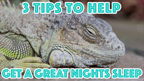 3 Tips to Help Get a Great Night's Sleep : Part 1