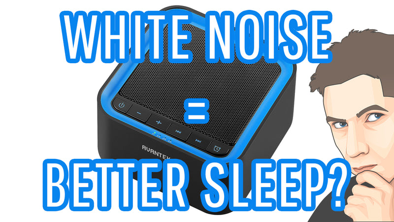 Does White Noise Help you Sleep Better? (AVANTEK Sleep White Noise Machine Review)