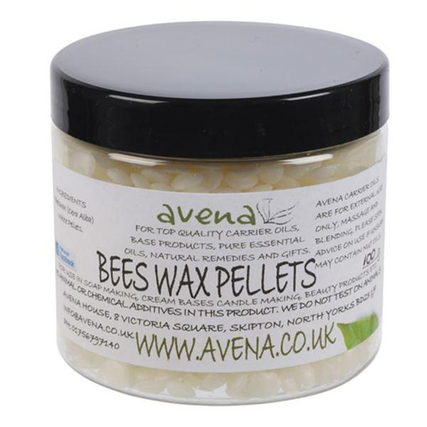 Beeswax (Cera alba) White Pellets - Evolved Flow