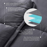 "Childs Serenity Weighted Blanket (76cm x 100cm | 30"" x 40"") - Evolved Flow"