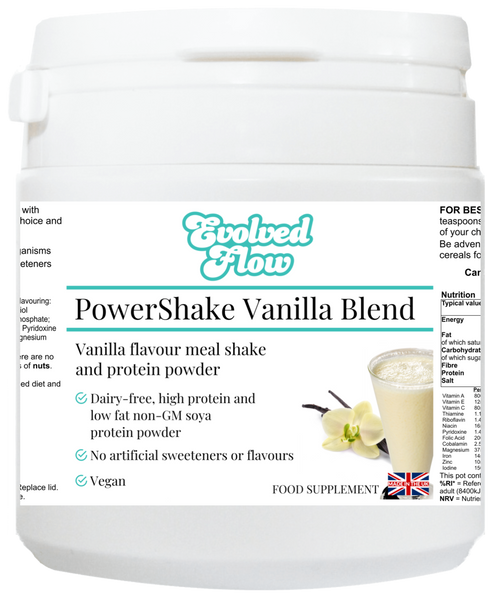 PowerShake Vanilla Blend - Evolved Flow