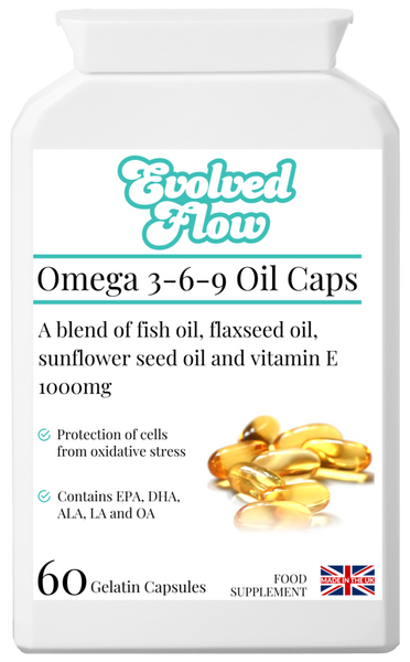 Omega 3-6-9 Oil Caps - Evolved Flow