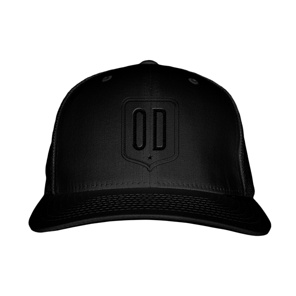 Black OD Trucker Hat