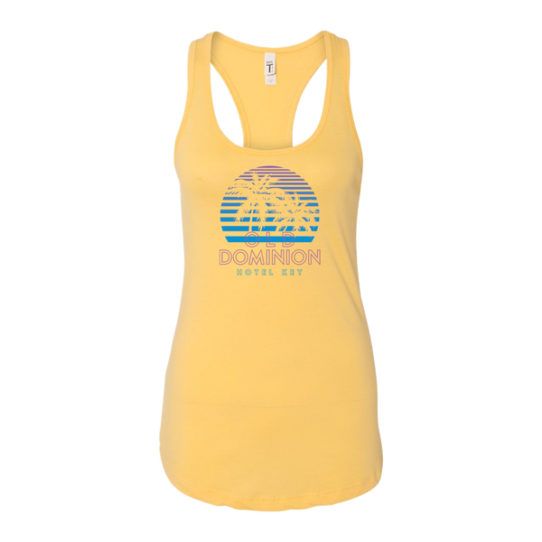 Ladies Sunset Yellow Tank