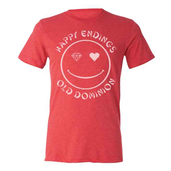 Red Happy Endings Tee