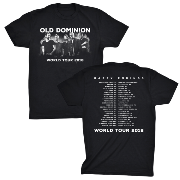 World Tour 18 Tee