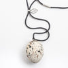 Bowerbird Egg Necklace
