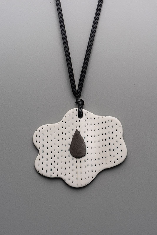 Dreaming of Rain on a cloudy day - Pendant