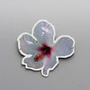 White Hibiscus  - Brooch.