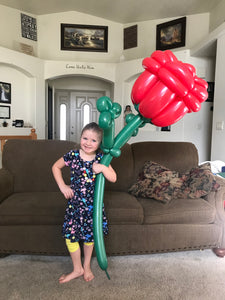Giant balloon Rose