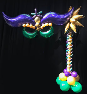 Mardi Gras decor Mask