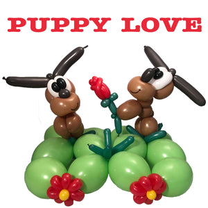 Puppy Love table display