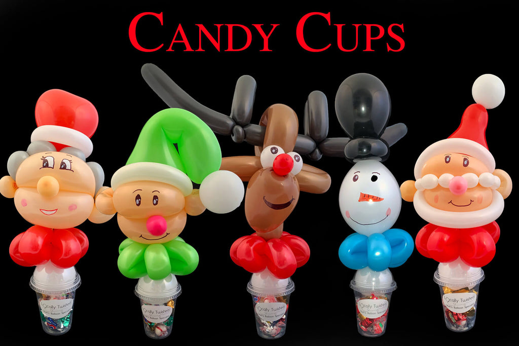 Christmas Candy Cups