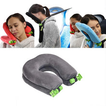 Load image into Gallery viewer, FlowSleeps Travel Pillow