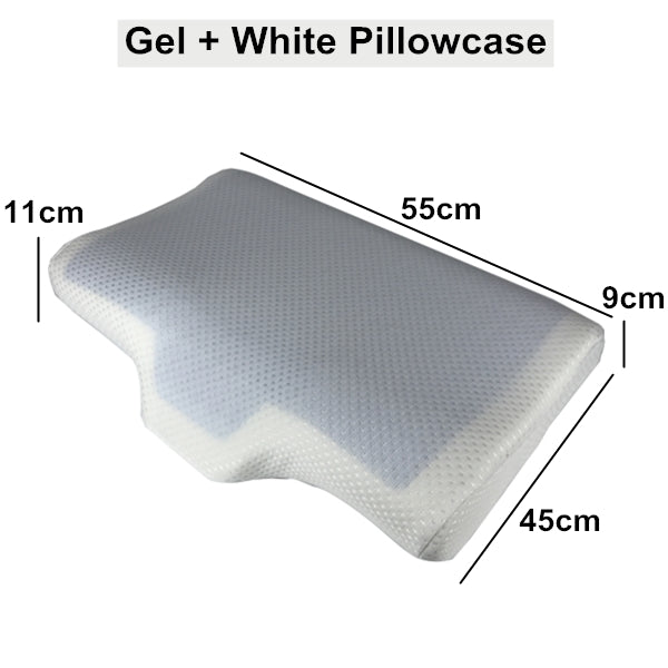 FlowSleeps™ Gel Pillow (2019 Upgraded)