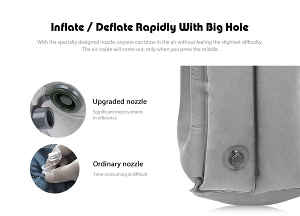 FlowSleeps™ Inflatable Air Pillow