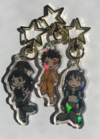 Fire Force Charms