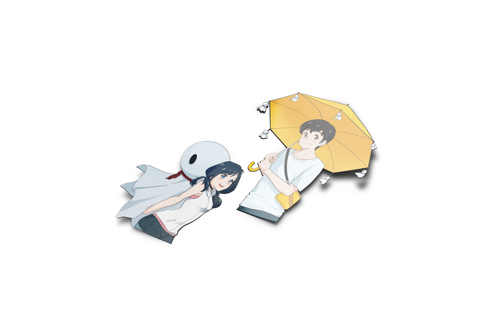 Hina and Hodaka Full Die cuts