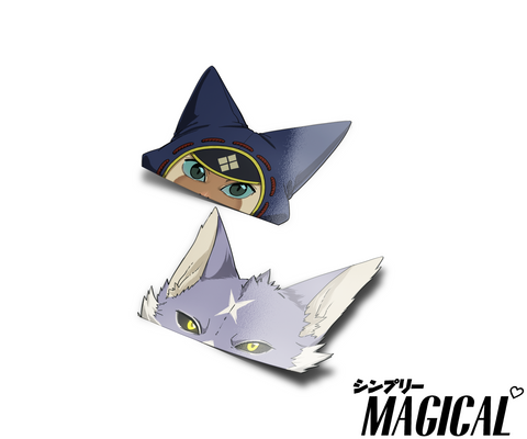 (PRE-ORDER) Palico and Palamute Peekers