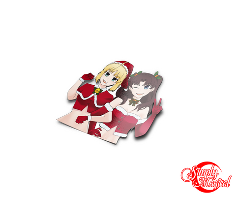 Holiday Rin and Saber Die Cut