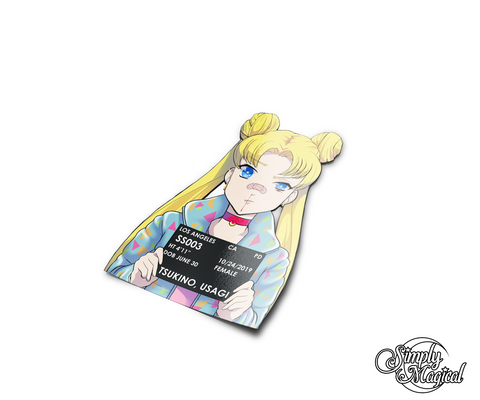 Simply Criminal Usagi Die Cut