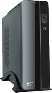 REO Slim Desktop (Intel Core i5 7th Gen 7400 3.0Ghz/8 GB DDR4 RAM/120 GB SSD/1.0 TB Hard Disk/Integrated Wi-Fi)