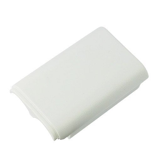 Xbox 360 Controller Replacement Battery Pack Cover Shell - White