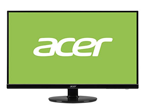 Acer 27 inch (68.58 cm) LED Backlit Computer Monitor - 1920 X 1080 Resolution - S271HL H (Black)