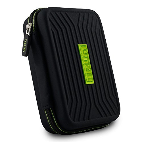 Tizum Hard Drive Case for 2.5-Inch Hard Drive/Disk Edition (Black)