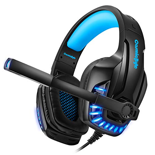 Cosmic Byte G1400 Celestial Gaming Headset with Mic and LED (Blue)