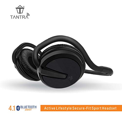 (Renewed) Tantra Groove Folding Bluetooth 4.1 on-Ear Wireless Headphone
