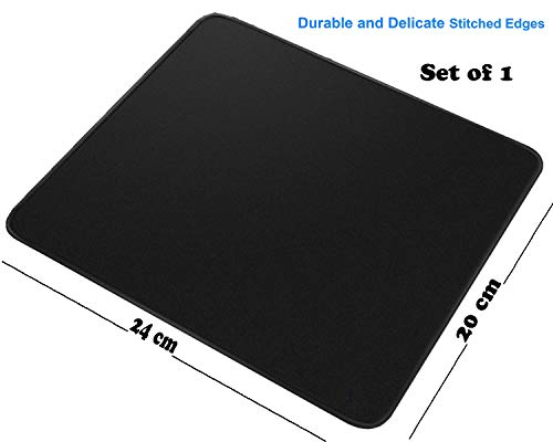 OXYURA Gaming Mouse Pad, Black - Set of 1
