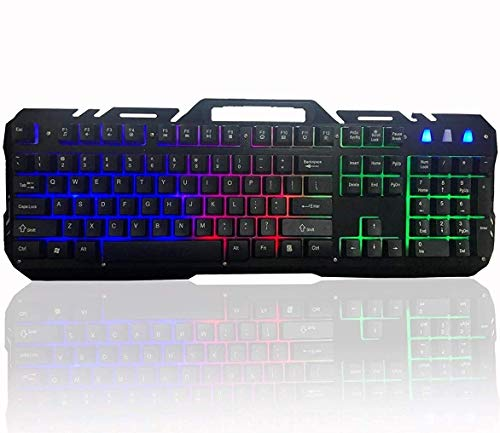 Qualimate WQ1502A Rainbow Backlit Gaming Keyboard
