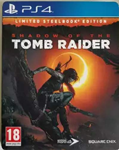 Shadow of The Tomb Raider Limited Steel Book Edition