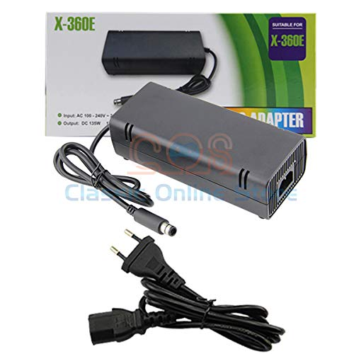 TCOS TECH Xbox 360 E Ac Power Supply Adapter Charger Brick