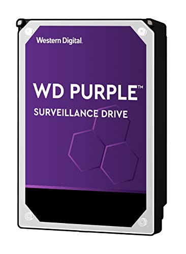 Western Digital Purple 2TB SATA Internal Surveillance Hard Drive (WD20PURZ)