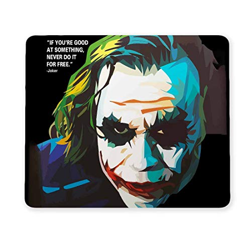 100yellow Joker Designer Gaming Mouse Pads for Laptop and Computer