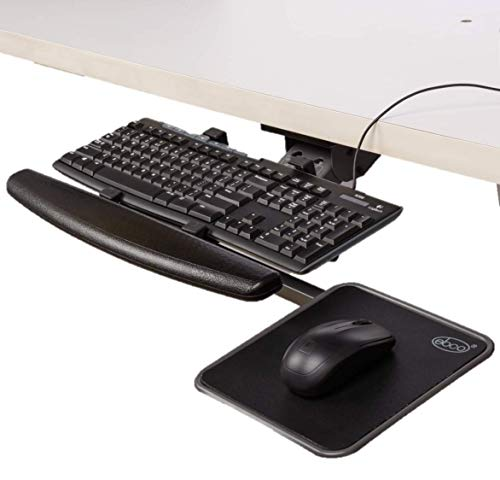 Articulated Keyboard Station (with Mouse Tray)